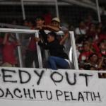 Sindiran Suporter Indonesia kepada Ketua Umum PSSI Edy Rahmayadi