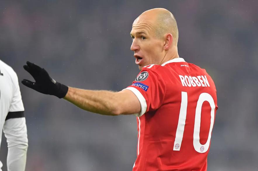 Arjen Robben Umumkan Tinggalkan Bayern di Akhir Musim